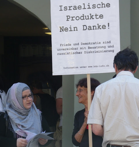 Free Gaza Demonstration in Bern, 2010